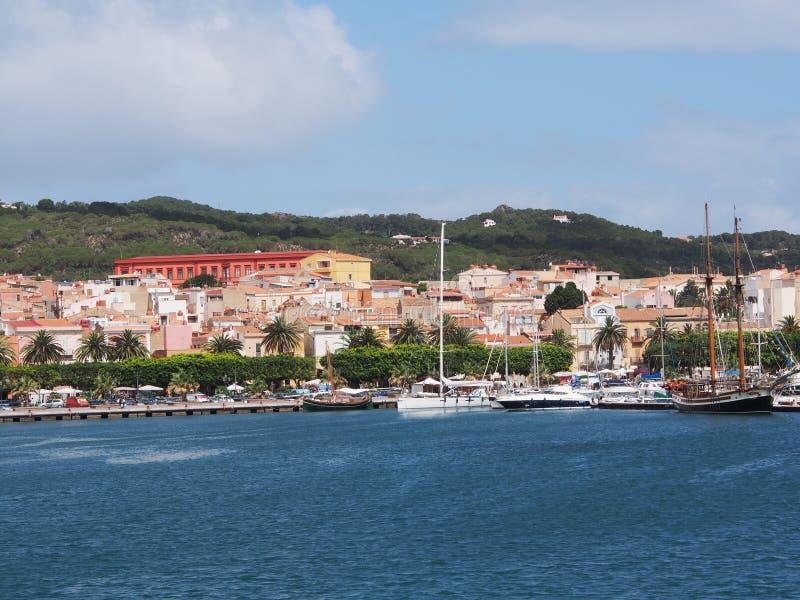 carloforte, san Pietro, Sardegna, Italia fotografia stock libera da diritti