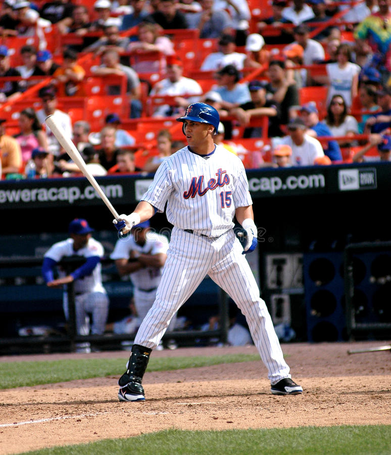 Carlos Beltran New York Mets royalty-vrije stock afbeeldingen
