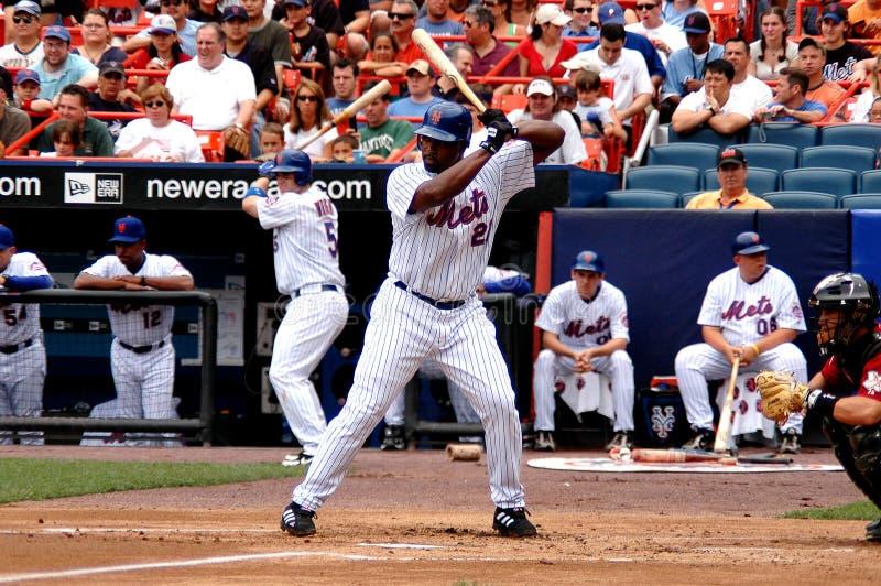 Carlos Delgado New York Mets photographie stock libre de droits