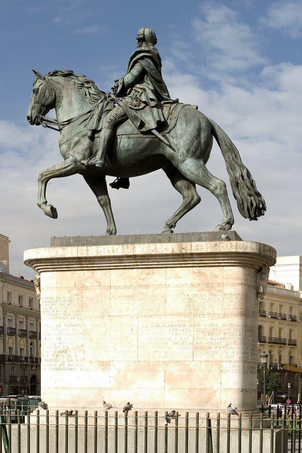 Carlos III lizenzfreie stockfotos