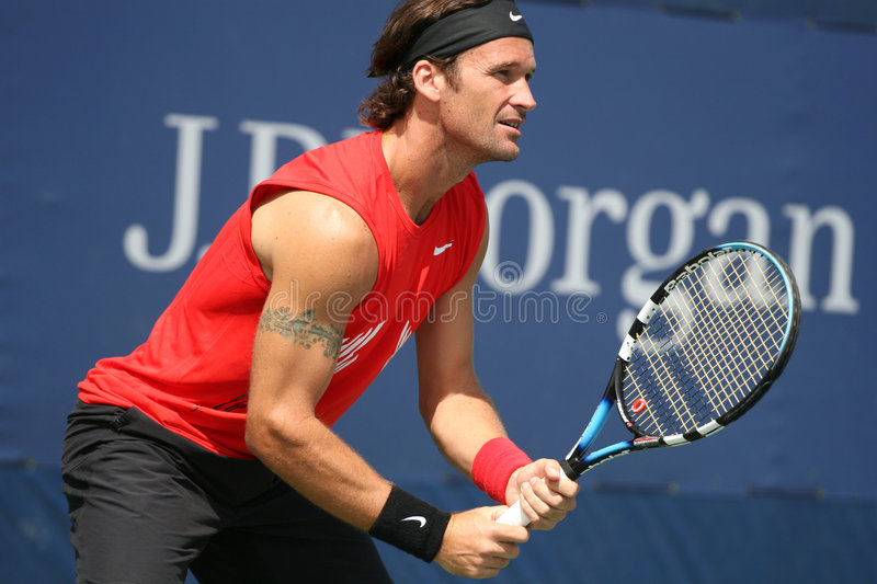 Carlos Moya, Tennis Player from Spain stock images