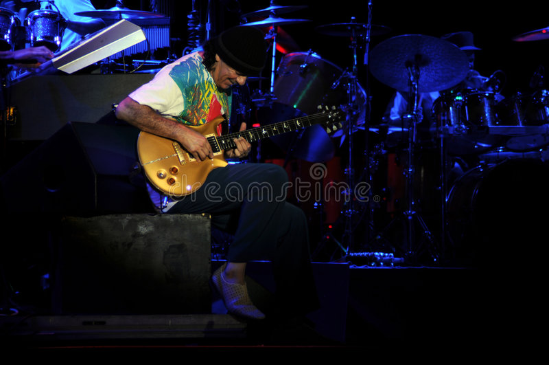 Carlos Santana stockfoto