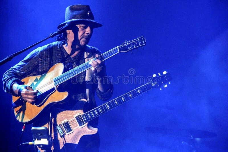Carlos Santana royalty free stock images
