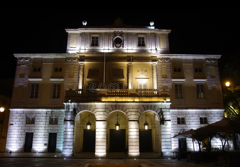 carlos theatre o s obrazy stock