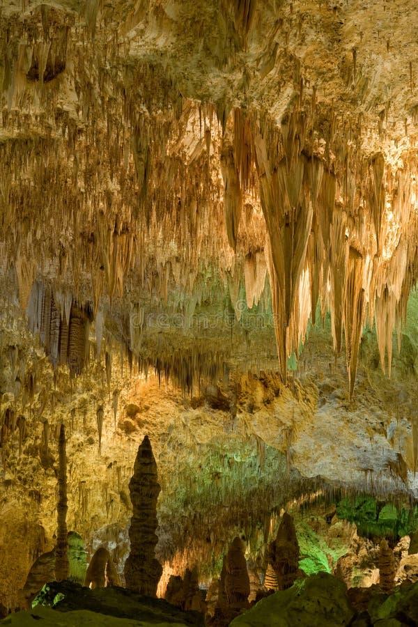 Carlsbad Caverns national park royalty free stock photos