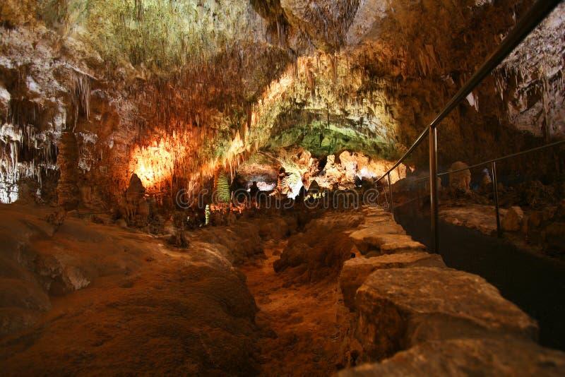 carlsbad caverns przejście zdjęcia royalty free