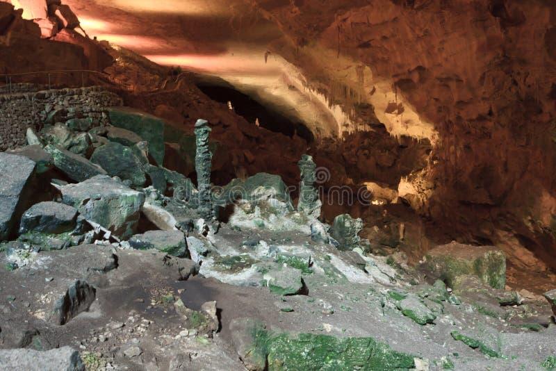 Carlsbad-Höhlen lizenzfreie stockfotos