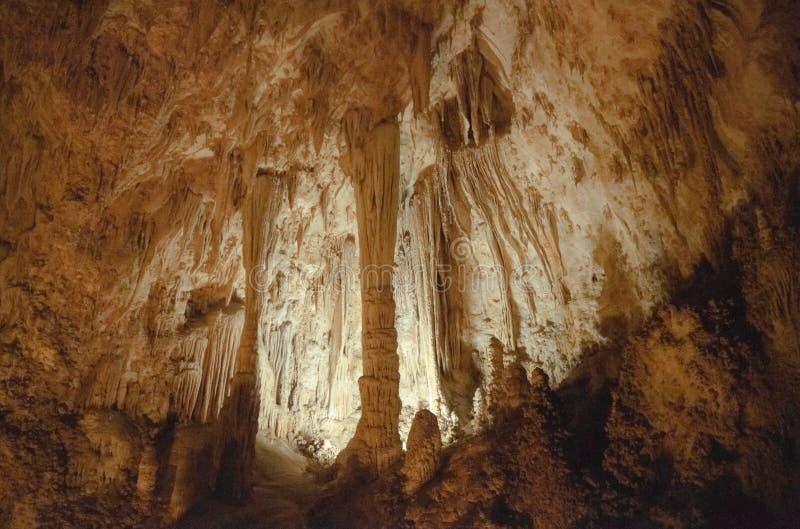 Carlsbad-Höhlen lizenzfreie stockbilder