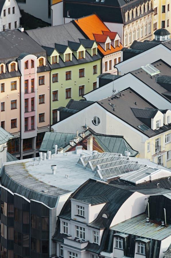 Carlsbads roof royalty free stock photos