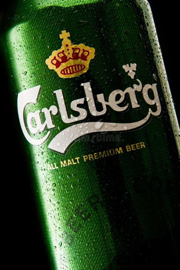 Carlsberg Beer Editorial Image