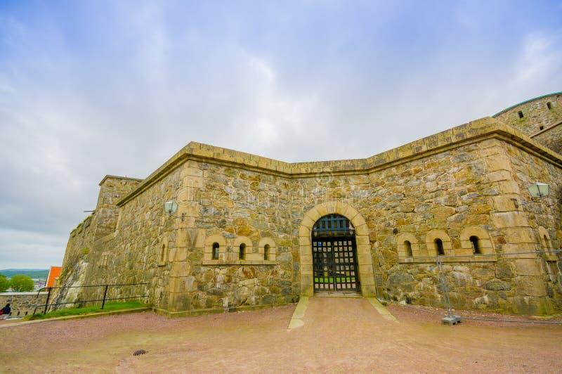 Carlsten fästning i Marstrand, västra Sverige arkivfoton