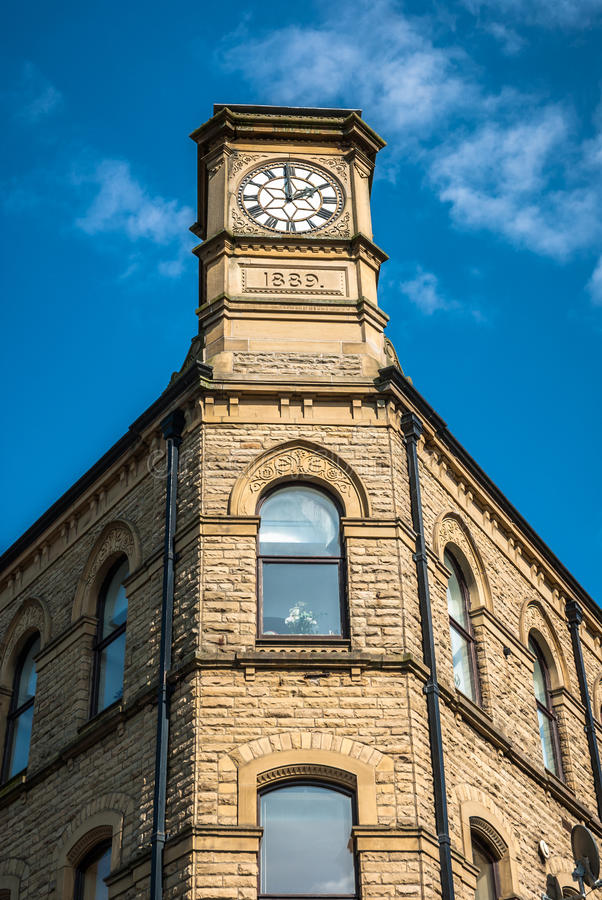 Download Carlton Building stock image. Image of structure, clock - 40260473