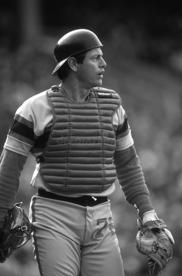 Carlton Fisk των Chicago White Sox στοκ εικόνα