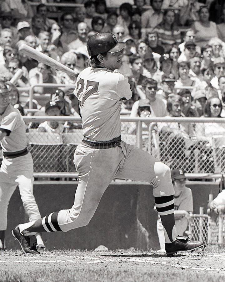Carlton Fisk, Boston Red Sox στοκ φωτογραφίες