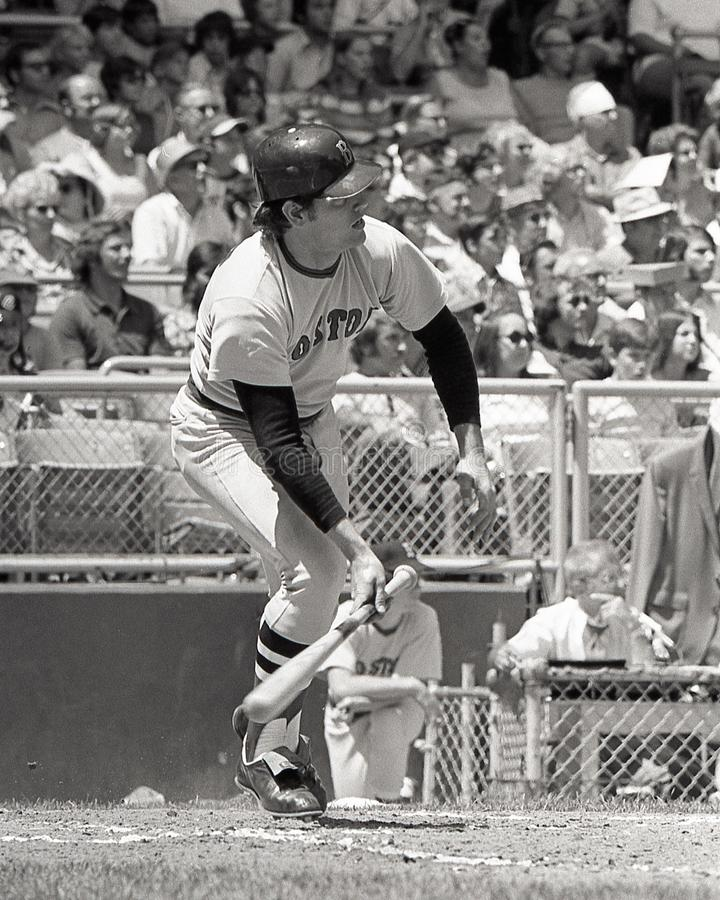 Carlton Fisk, Boston Red Sox στοκ φωτογραφίες με δικαίωμα ελεύθερης χρήσης