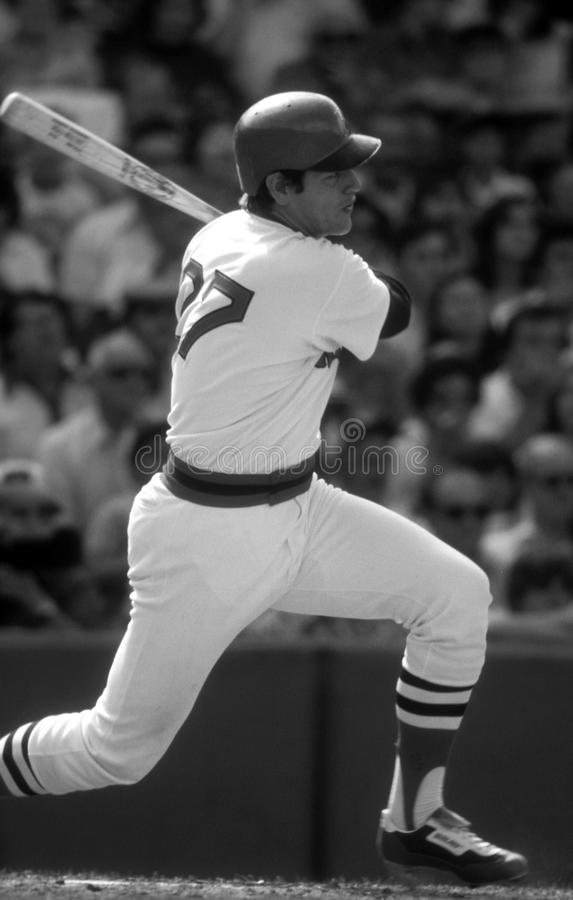 Carlton Fisk Boston Red Sox arkivbilder
