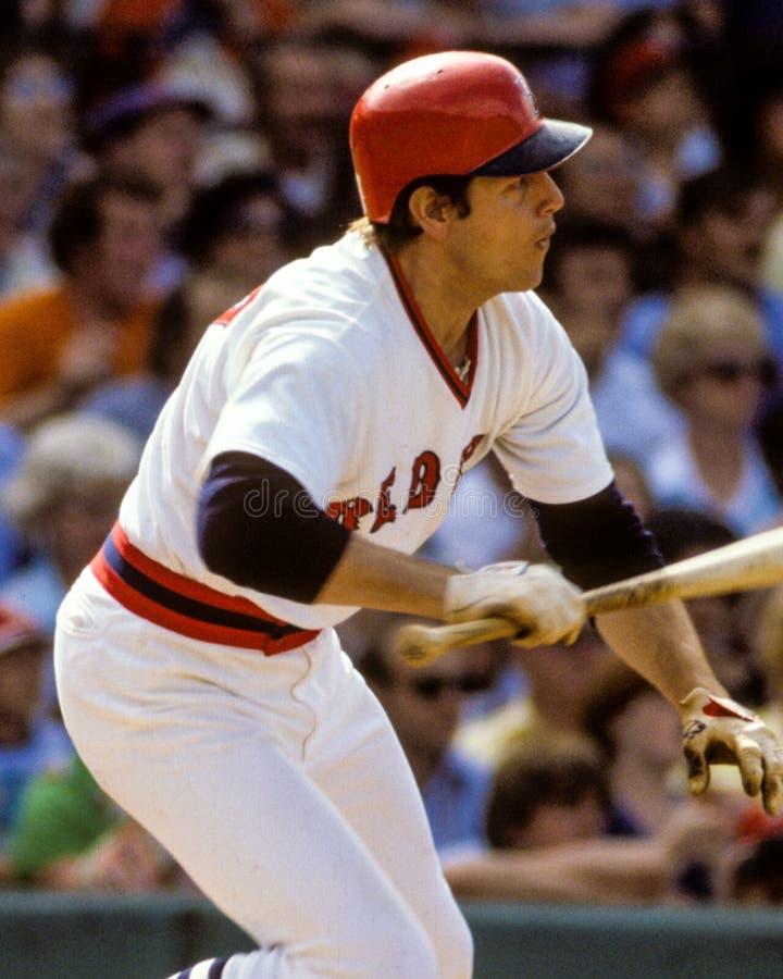 Carlton Fisk, Boston Red Sox στοκ φωτογραφία