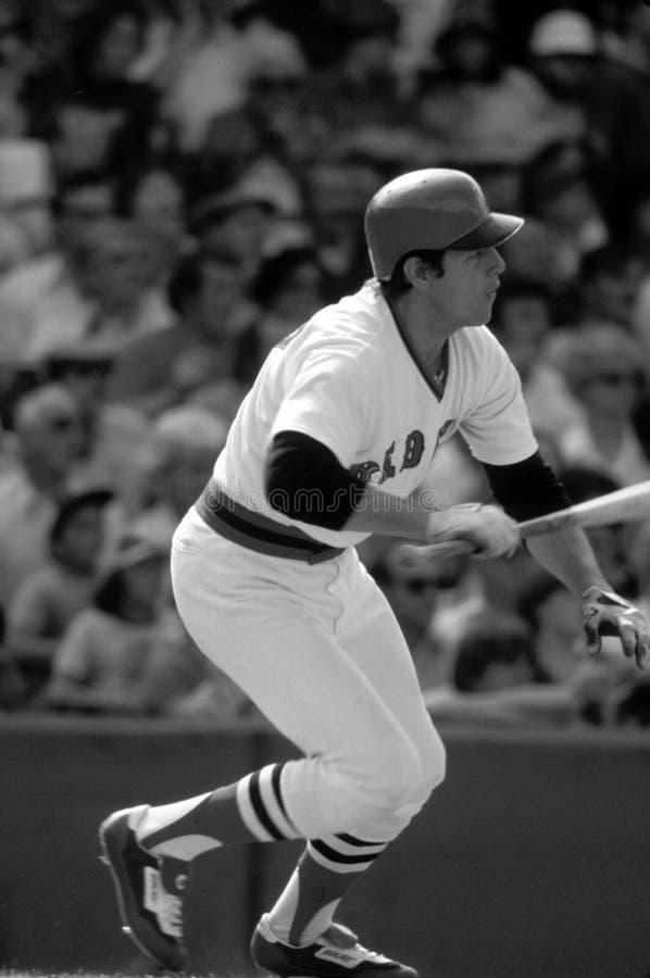 Carlton Fisk Boston Red Sox στοκ εικόνες