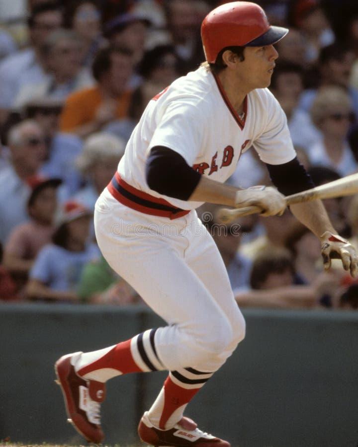 Carlton Fisk, Boston Rode Sox royalty-vrije stock fotografie
