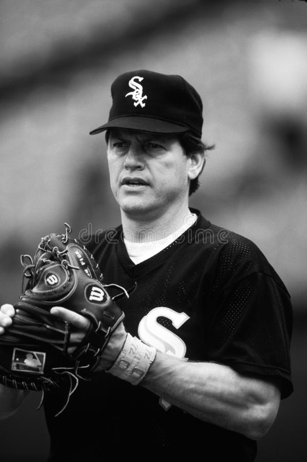 Carlton Fisk Chicago White Sox στοκ εικόνες