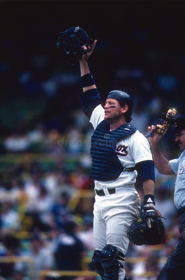 Carlton Fisk Chicago White Sox photographie stock