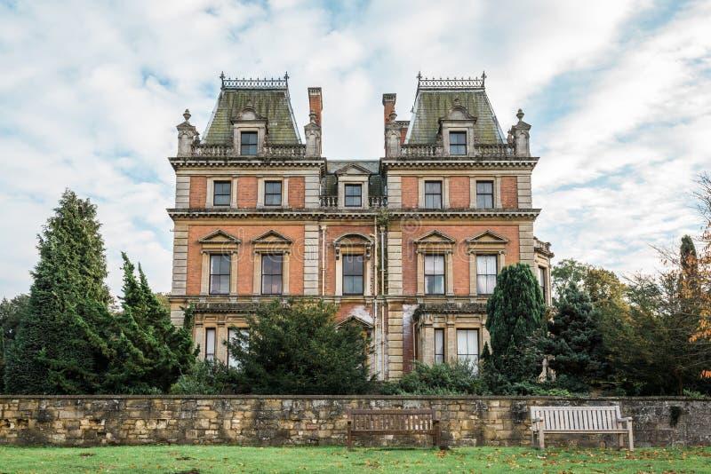 Carlton Hall del este en el parque del este del país de Carlton, Inglaterra fotos de archivo