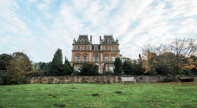 Carlton Hall del este en el parque del este del país de Carlton, Inglaterra imagen de archivo libre de regalías
