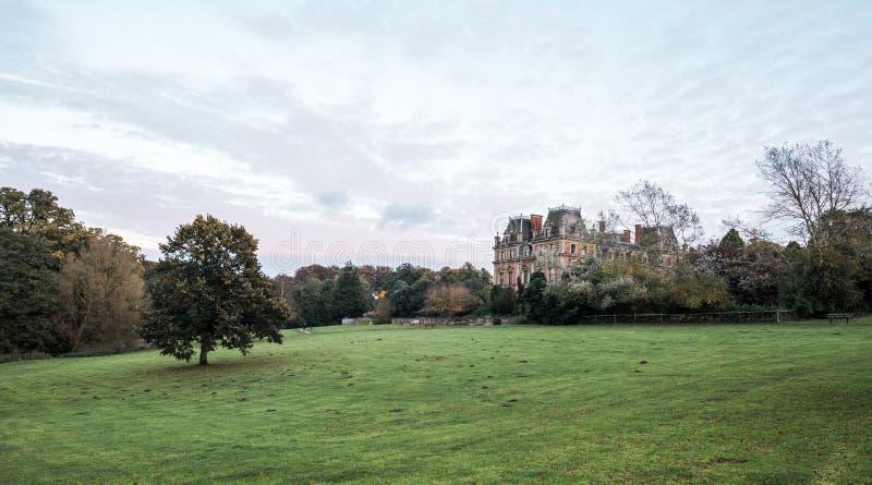 Carlton Hall del este en el parque del este del país de Carlton, Inglaterra imágenes de archivo libres de regalías