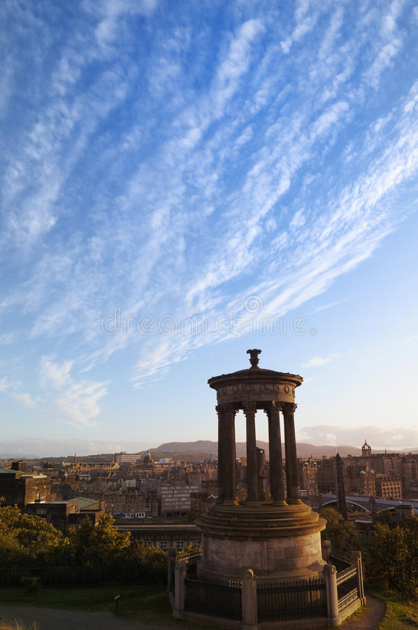 Download Carlton Hill And The City Of Edinburgh Stock Photo - Image: 22029042