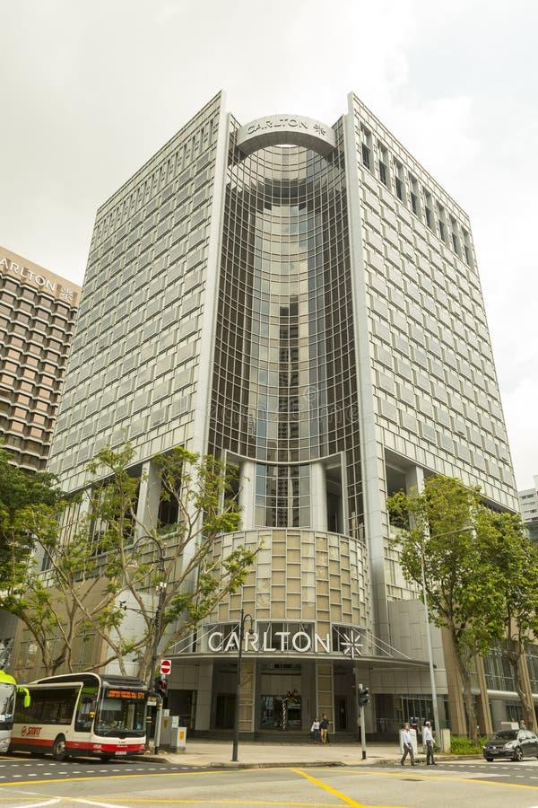 Carltonhotel in Singapore royalty-vrije stock fotografie