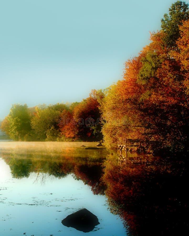 carmel湖 免版税库存照片