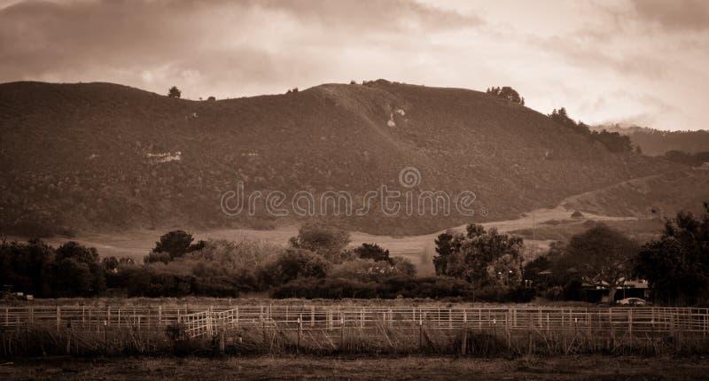 Carmel California CA commande de 17 milles photos libres de droits