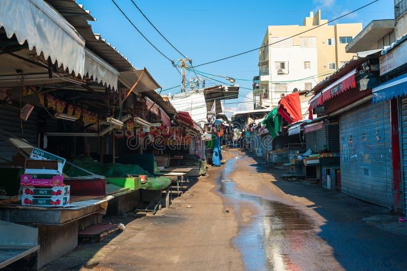 Carmel Market à Tel Aviv images stock