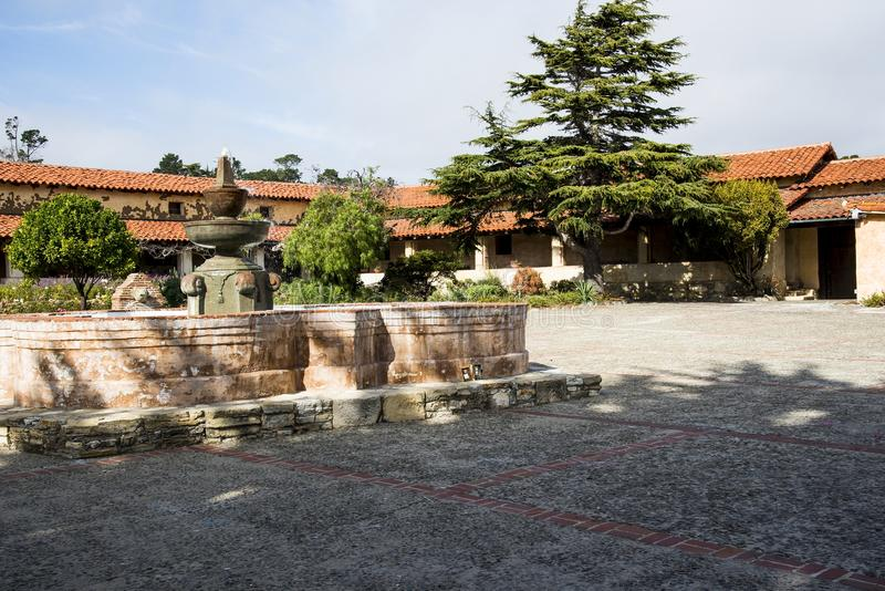 Carmel Mission images libres de droits