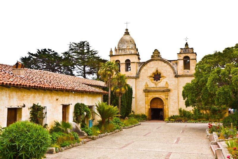 Carmel Mission royalty-vrije stock afbeelding