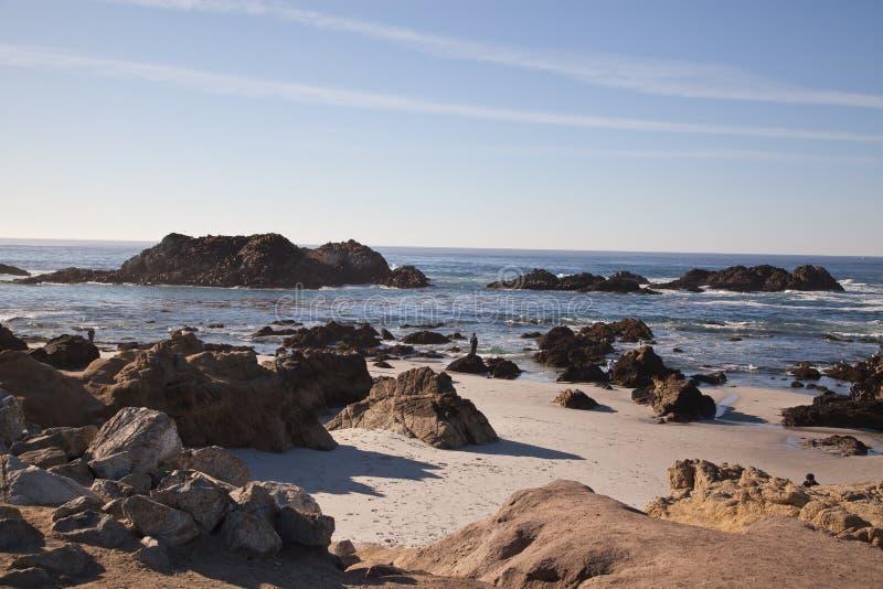 Carmel By the Sea, CA royalty free stock photos