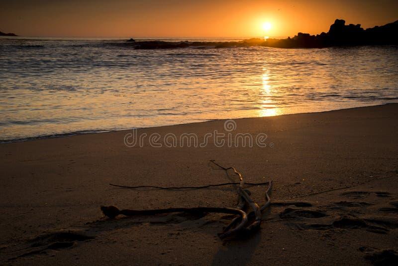 Carmel Sunset stockfotos