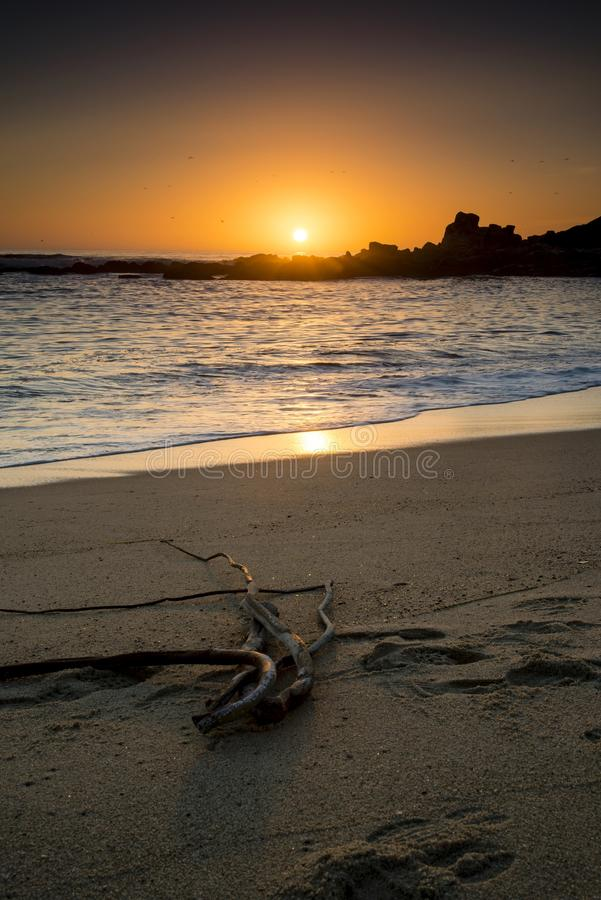 Carmel Sunset photo stock