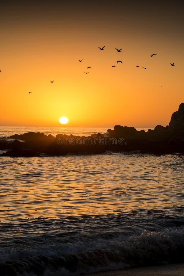 Carmel Sunset photographie stock libre de droits
