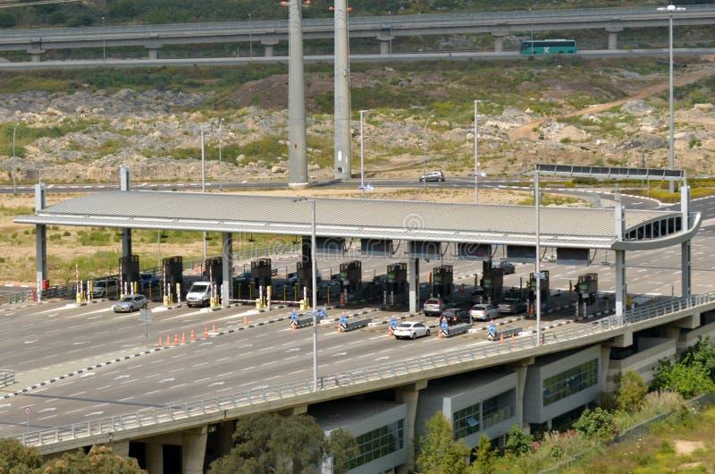 Carmel Tunnels à Haïfa - en Israël photographie stock libre de droits