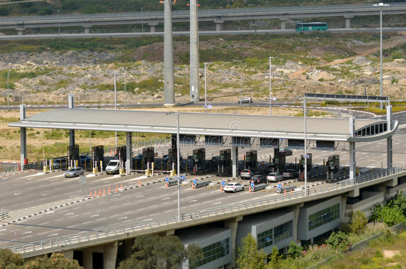 Carmel Tunnels in Haifa - Israël royalty-vrije stock fotografie