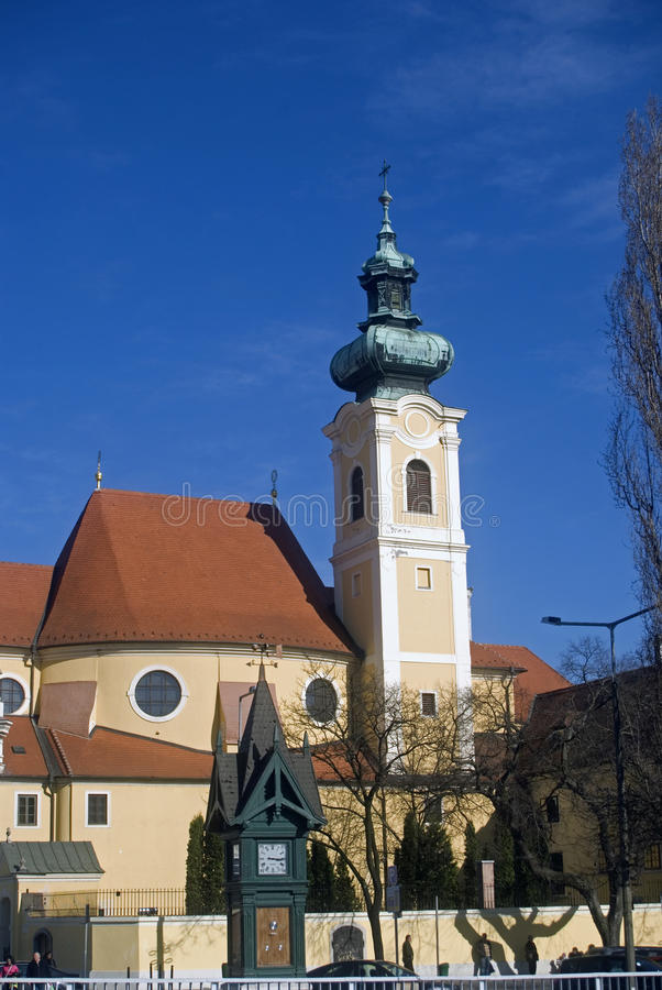 Download Carmelite Church, Gyor, Hungary Royalty Free Stock Images - Image: 18995059