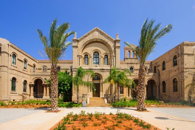 Carmelite klooster, Haifa royalty-vrije stock afbeelding