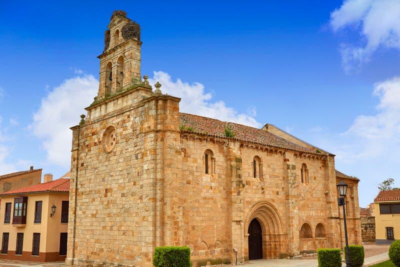 Carmen de San Isidoro-kerk Zamora Spanje royalty-vrije stock fotografie