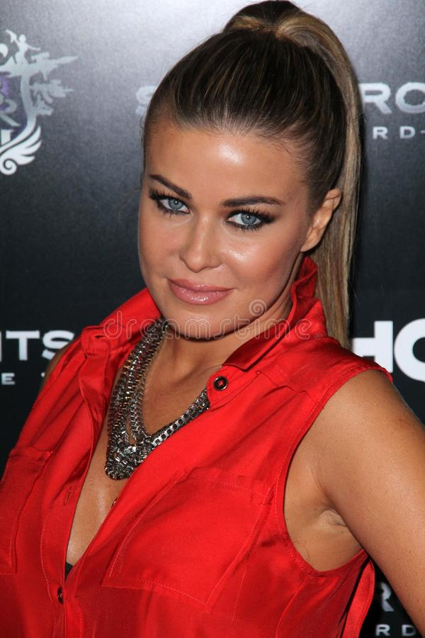 Download Carmen Electra editorial photography. Image of event - 21837197