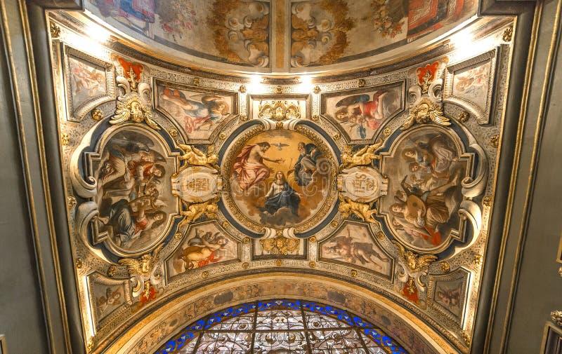 Carmes chiesa, Parigi, Francia del DES di St Joseph immagini stock libere da diritti