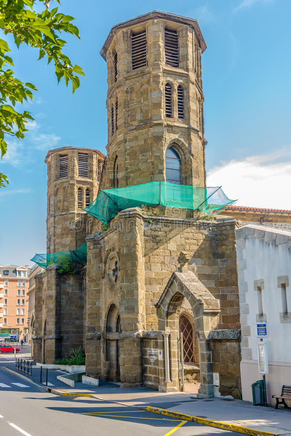 Carmeskerk in Le Puy Engelse Velay - Frankrijk stock foto