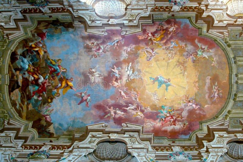 carmine del Μαρία santa στοκ φωτογραφίες με δικαίωμα ελεύθερης χρήσης