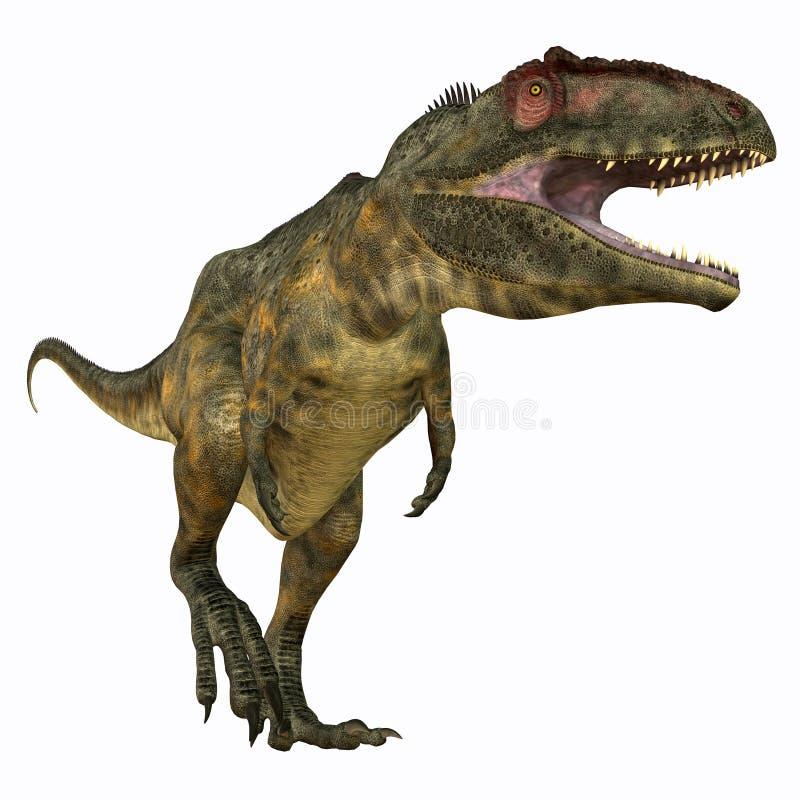 Carnívoro del Giganotosaurus ilustración del vector