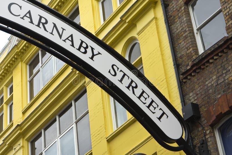 carnaby улица стоковое изображение